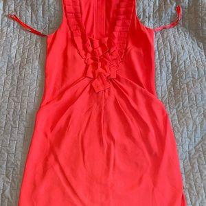 Rachel Roy Size 2 Coral Dress
